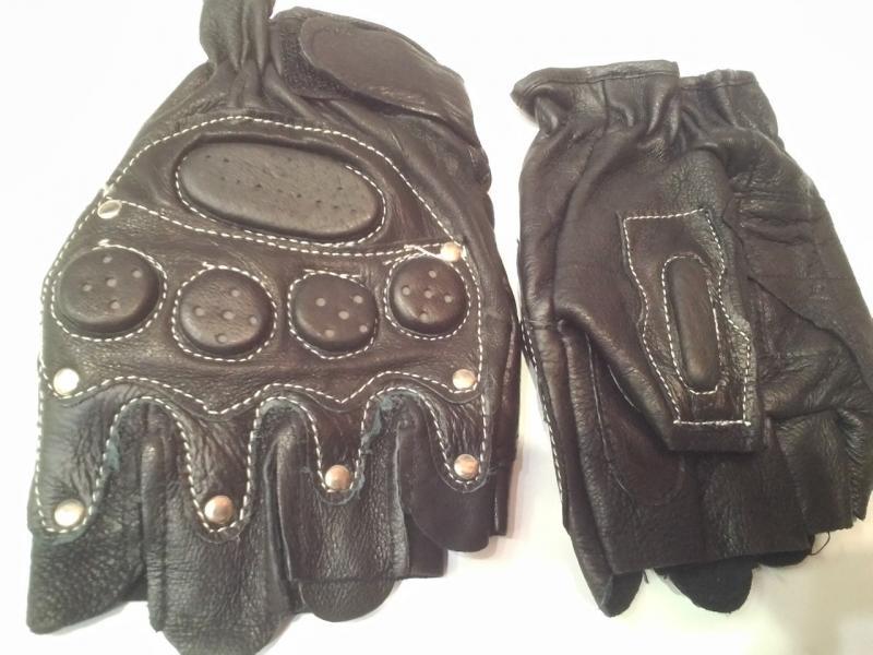Перчатки спортивные кожа, PL (р-р L,XL)