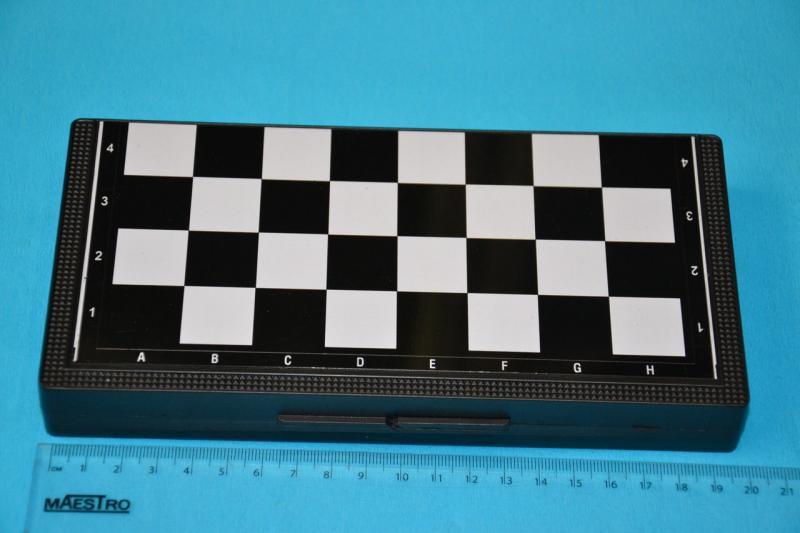 Шахматы шашки нарды магнитные. Дорожные.20 см