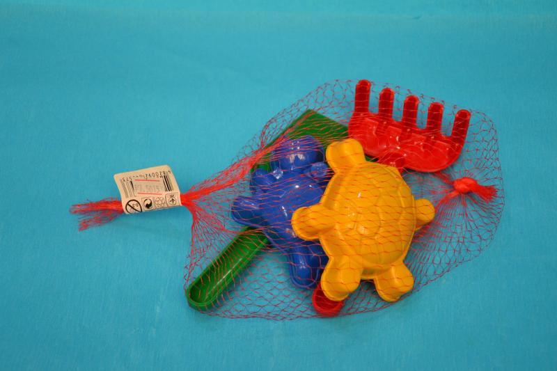Песочный набор Черепашка.Пластик.