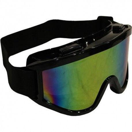 Мотоочки, очки тактические 908-1 (пластик, акрил, линзы Хамелеон)