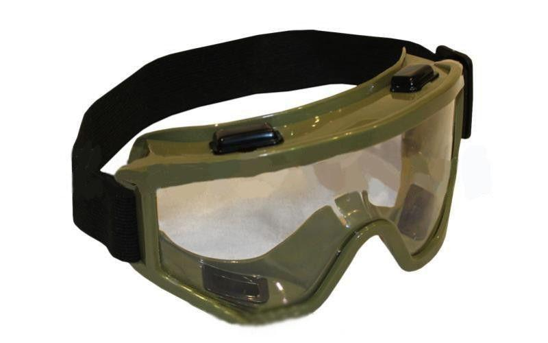 Мотоочки, очки тактические 908-2 (пластик, акрил)