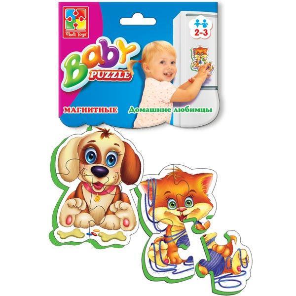 Baby Puzzle на магните «Домашние любимцы»