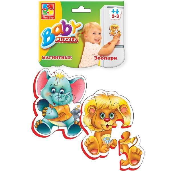 Baby Puzzle на магните «Зоопарк»