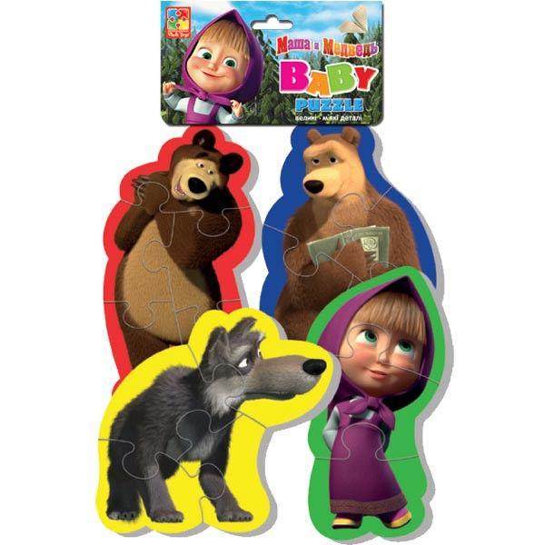 Baby Puzzle «Маша и Медведь. Волк»