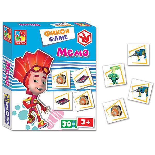 Фикси-игра «Мемо»