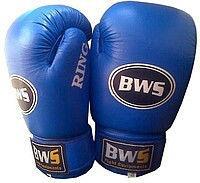 Перчатки боксерские кожа Bws Ring 8oz