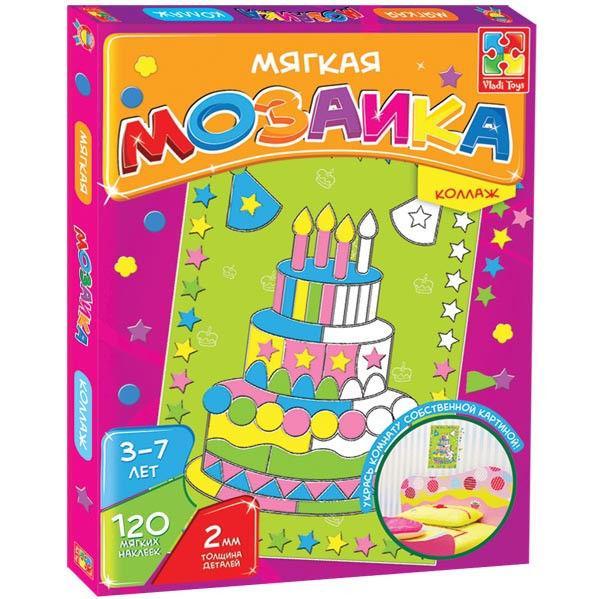 Мозайка-коллаж «Торт»