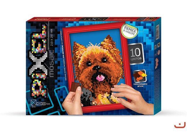 """Набор для творчества """"Пиксельная мозаика Собака"""""""