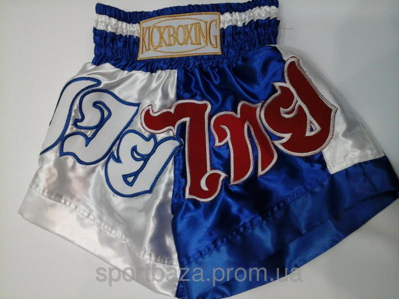 Шорты для тайского бокса ЭЛИТ р-р XXXL,атлас.