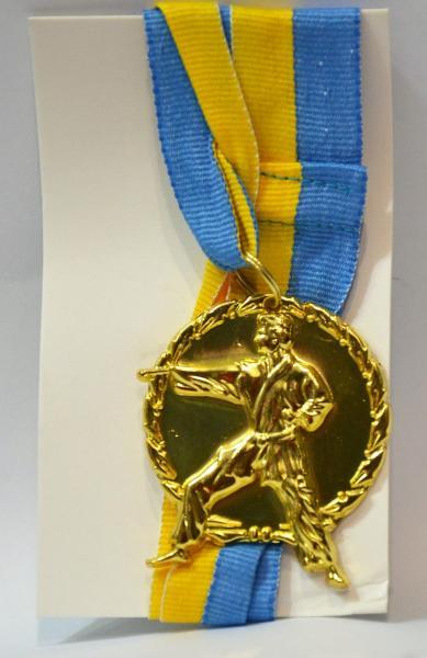 """Медаль спортивная d-5 см """"Карате"""""""