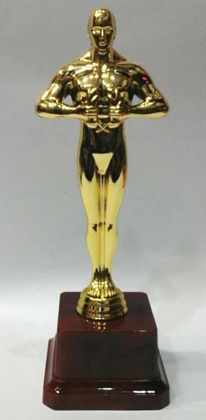 Оскар наградой. 19 см.