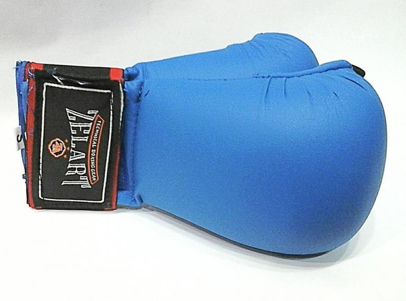 """Накладки (перчатки) для карате """"ZELART"""" (р-р L, синий)"""