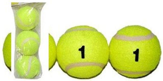 Мяч для большого тенниса, 1й сорт. В упаковке, 3 шт.