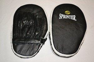 """Лапа боксёрсая """"Sprinter"""". Прямая (кожа)"""