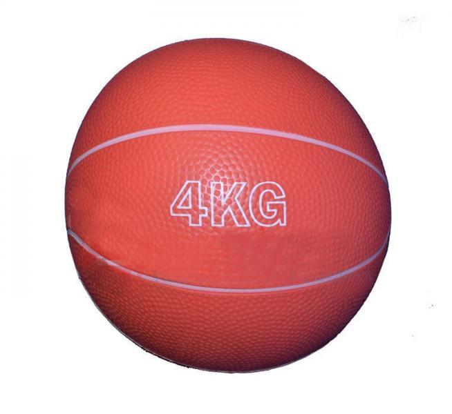 Мяч для атлетических упражнений Вес 4кг, d-19см