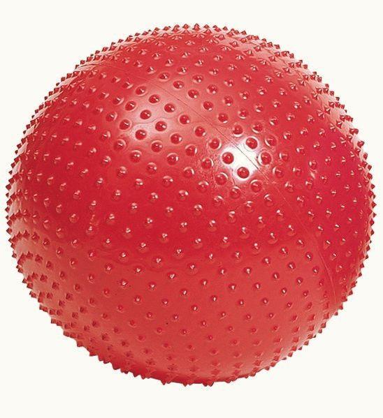Мяч для фитнеса, с массажными шипами. d- 60 см