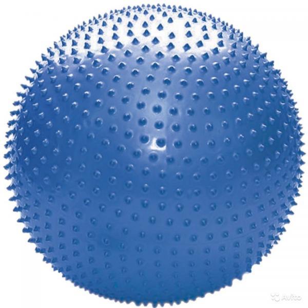 Мяч для фитнеса, с массажными шипами. d- 65 см