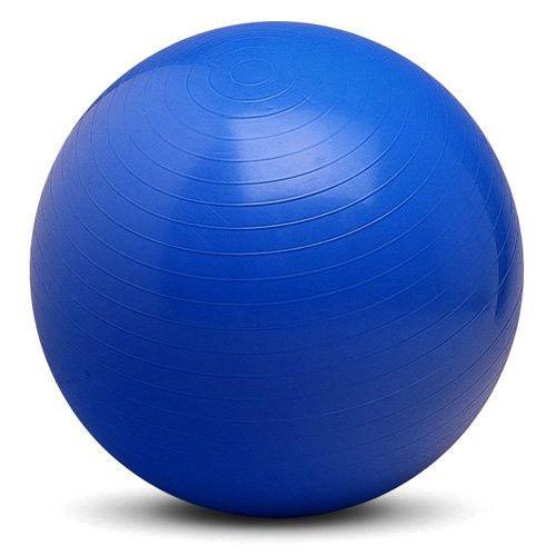 """Мяч для фитнеса """"GYM BALL"""" матовый. d- 85 см (СИНИЙ)"""