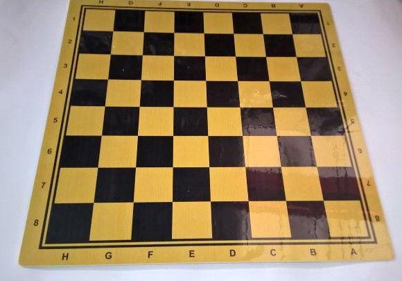 Доска деревянная для шахмат 44х44 см