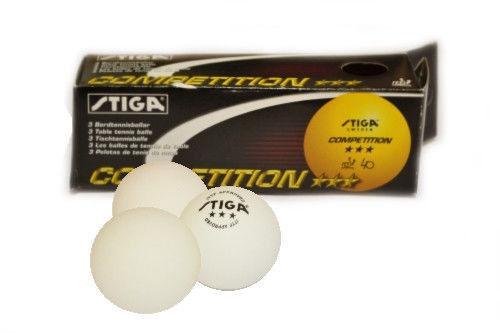 Мячи для настольного тенниса STIGA DSK, 3 шт.