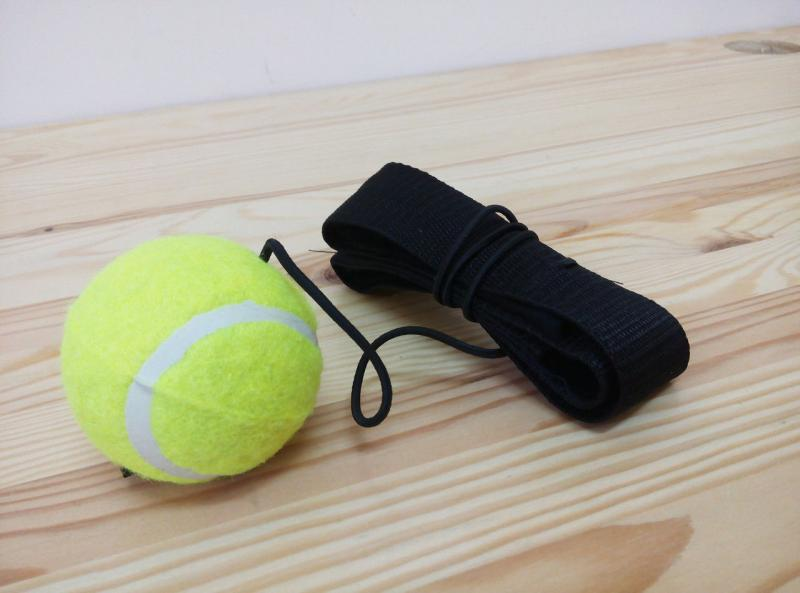 Тренажёр-эспандер для бокса с мячиком