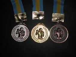 Медаль с видами спорта 6.5 см