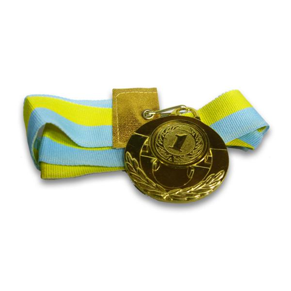 Медаль спортивная d-5 см, место 1-золото