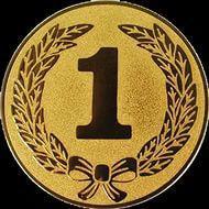 Наклейка (жетон) на медаль, кубок d-2,5 см