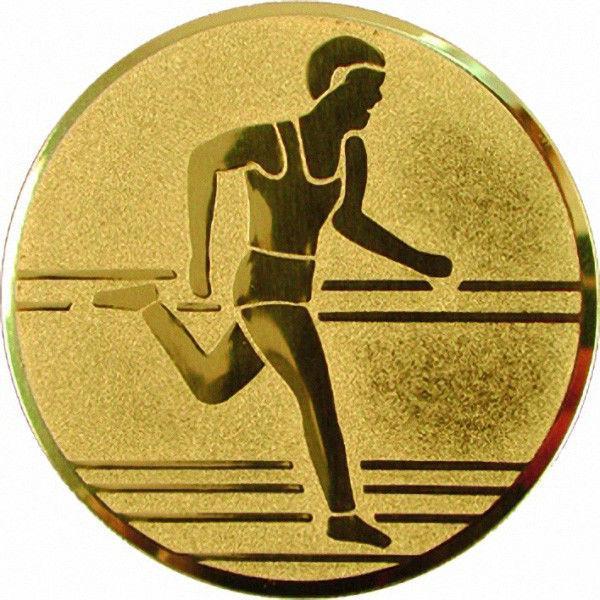 """Наклейка (жетон) на медаль, кубок """"Легкая атлетика"""""""