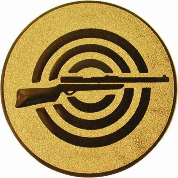"""Наклейка (жетон) на медаль, кубок """"Стрельба"""""""