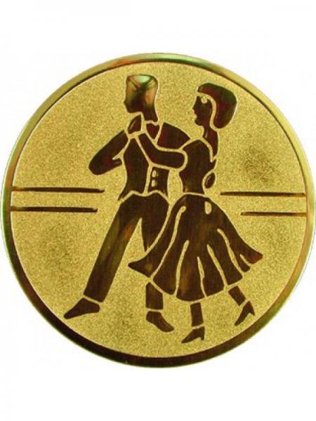 "Наклейка (жетон) на медаль, кубок ""Танцы"""