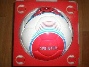 Мяч футбольный DUXON с полимерным покрытием