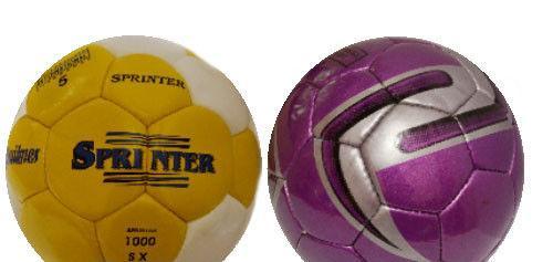 Мяч футбол SPRINTER полимер фиолет