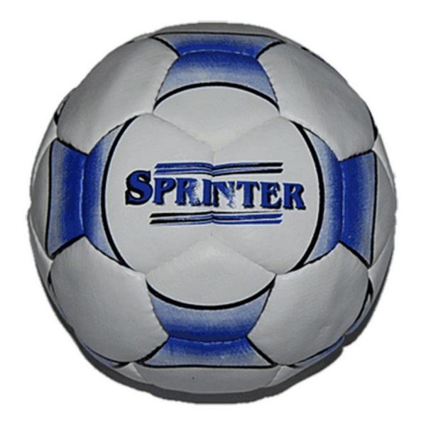 Мяч футбол SPRINTER, (прессованная кожа, 4-х слойный, бутиловая камера изг. BALLON )