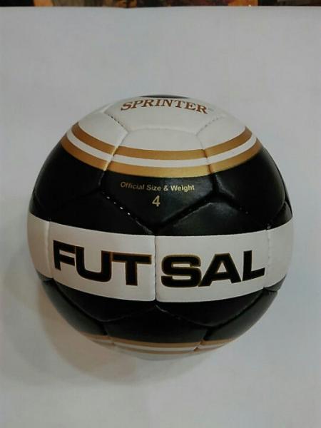 Мяч футзальный SPRINTER, пресскожа с полимерным покрытием