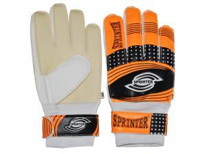 Фото Футбол, Защита футбольная. Перчатки вратарские Перчатки вратарские взрослые c усилением SPRINTER размер 8
