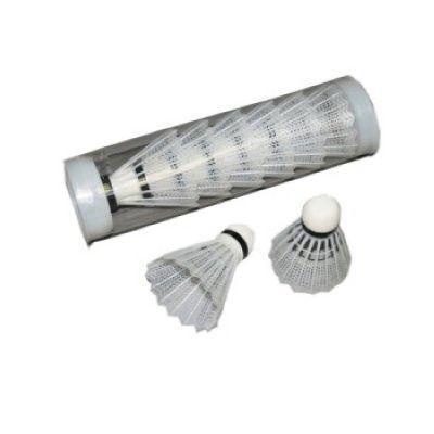 Воланчики перьевые (6шт) в пластиковом тубе BD-213 (перо, белые)