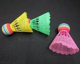 Воланчики пластиковые (3шт) пластиковый блистер BD-3323 (пластик, цветные)