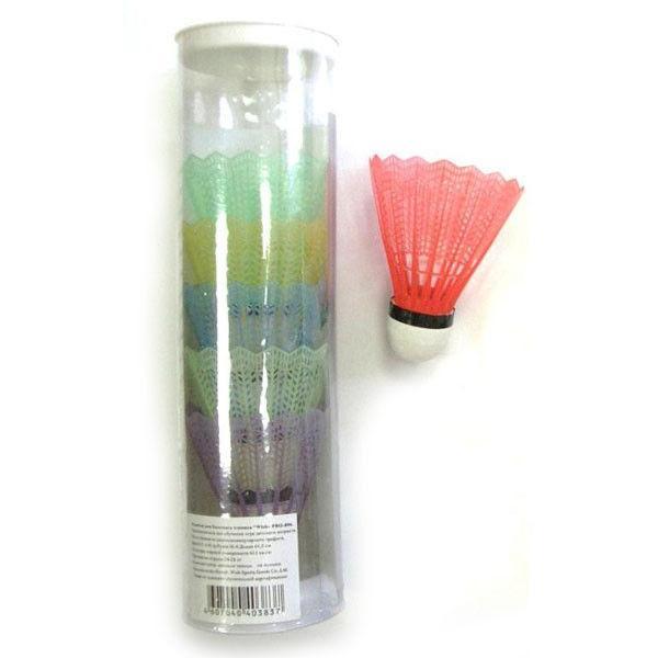 Воланчики пластиковые (6шт) в пластиковом тубе BD-2114-6 (пластик, цветные)