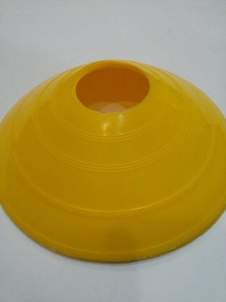 Фишка футбольная для пола малая круглая, :Цвет:оранжевый