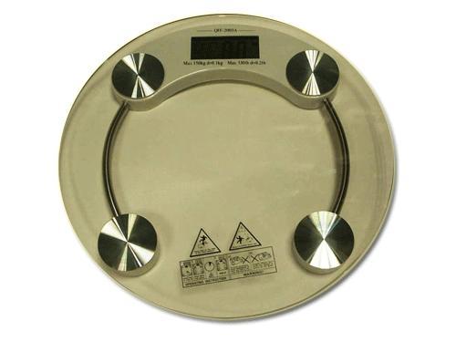 Весы напольные электронные, круглые.