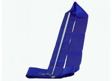 Лента гимнастическая (Цвет: синий)