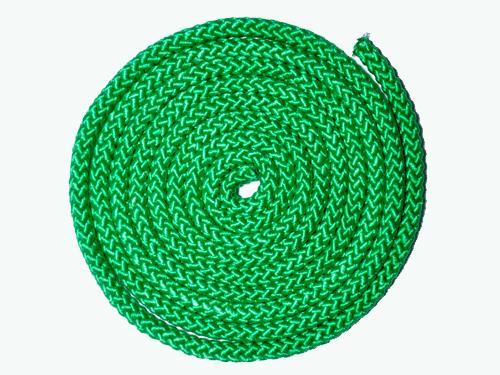 Скакалка гимнастическая.Цвет зелёный