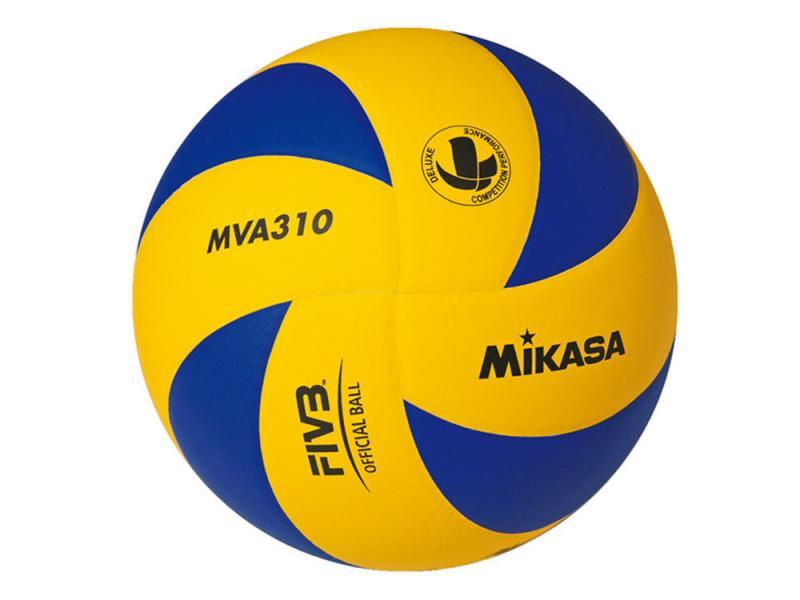 Мяч волейбол. Клееный MIK VB-1845 MVA-310 (PU, №5, 3 слоя)