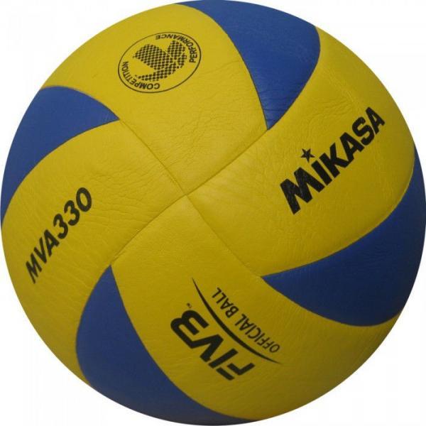 Мяч волейбол. Клееный MIK VB-1846 MVA-330 (PU, №5, 3 слоя)