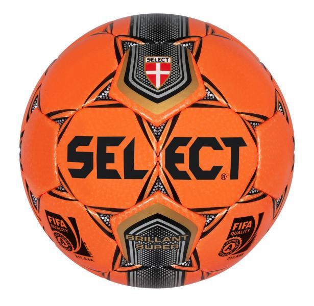 Мяч футбольный №5 SELECT BRILLANT SUPER Matches highest level (FPUS 2000, оранжевый)