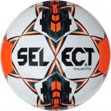 Мяч футбольный №5 SELECT TALENTO(WOR)-D Club matches and training (FPUS 1400, белый-синий-оранж)