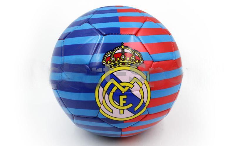 Мяч футбольный Сшит машинным способом FB-2302-RMAD REAL MADRID (№5, 5сл.)