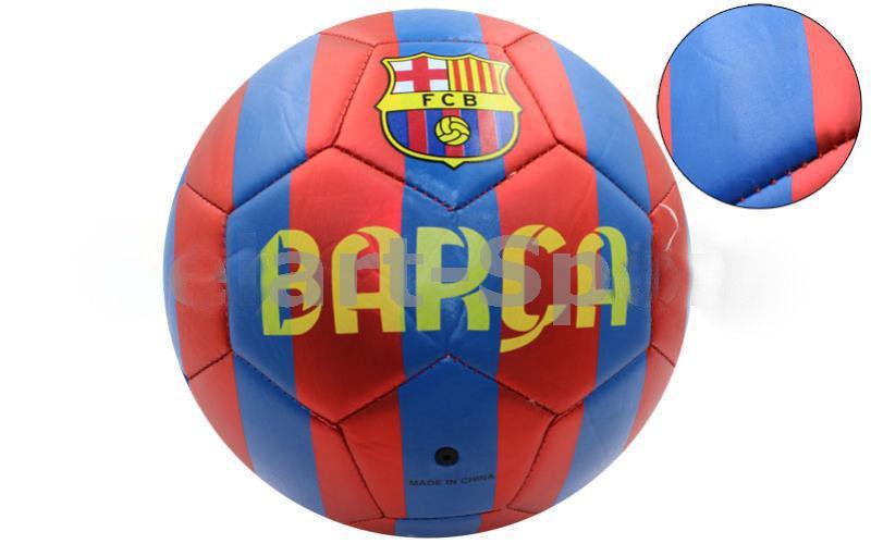 Мяч футбольный Сшит машинным способом FB-4529-BAR BARCELONA (№5, 5сл.)
