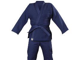 Кимоно для дзюдо. Цвет синий. Рост 140(1)
